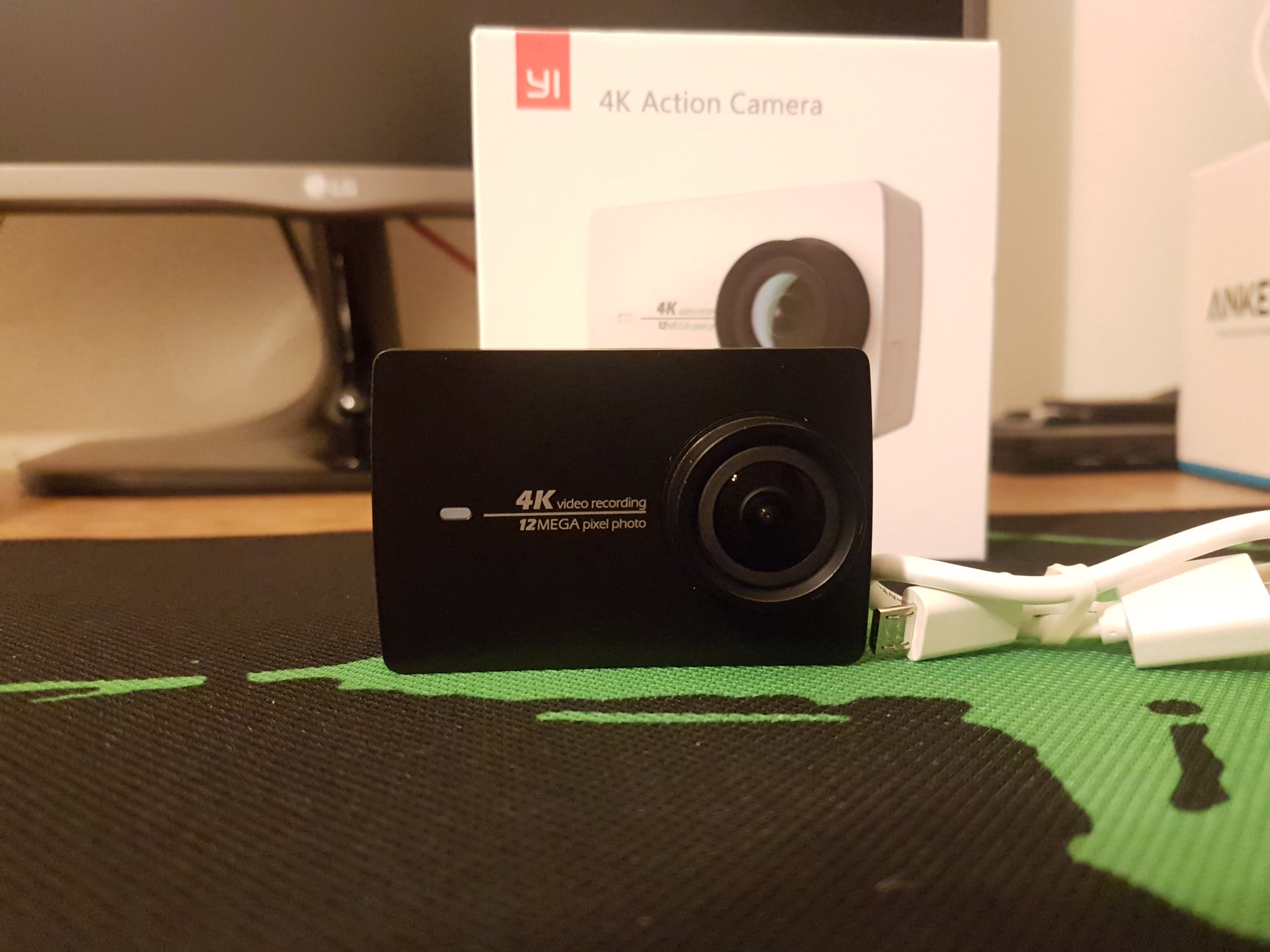 Xiaomi Yi 2 4k Camera Kelshitech Ii Action Let Me Start By Saying That Im Absolutely In Love With This Little Thing I Ordered The A While Back Through Aliexpress